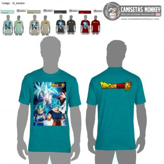 Camiseta hombre estilo 10 de DRAGON BALL Z Y SUPER