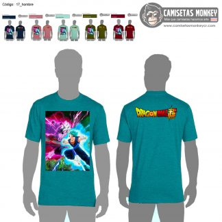 Camiseta hombre estilo 17 de DRAGON BALL SUPER