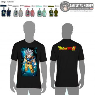 Camiseta hombre estilo 18 de DRAGON BALL SUPER