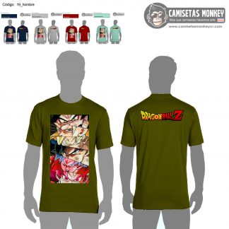 Camiseta hombre estilo 19 de DRAGON BALL SUPER