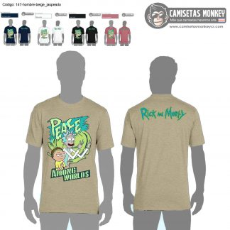 Camiseta hombre estilo 147 de CAMISETAS DE RICK AND MORTY