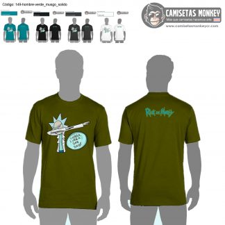 Camiseta hombre estilo 149 de CAMISETAS DE RICK AND MORTY
