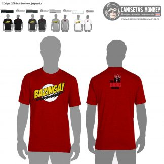 Camiseta hombre estilo 206 de CAMISETAS DE THE BIG BANG THEORY