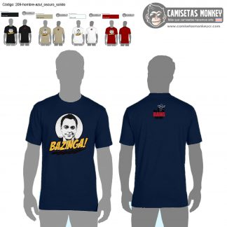 Camiseta hombre estilo 209 de CAMISETAS DE THE BIG BANG THEORY
